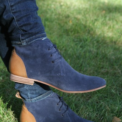 Go, Cat, Go: Sebago Knows Blue Suede Shoes