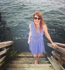 Jude Connally_Julie Pinstripe Dress