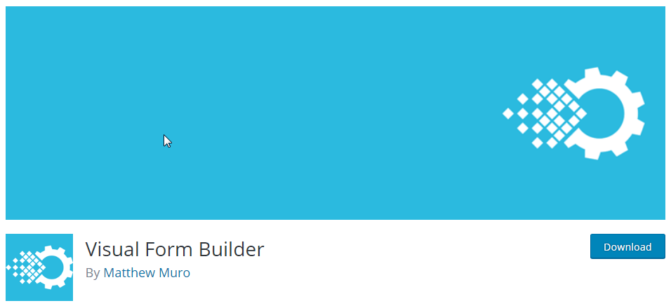 Visual Form Builder, another great WordPress contact form plugin.