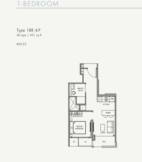 Parc Botannia Floor Plan