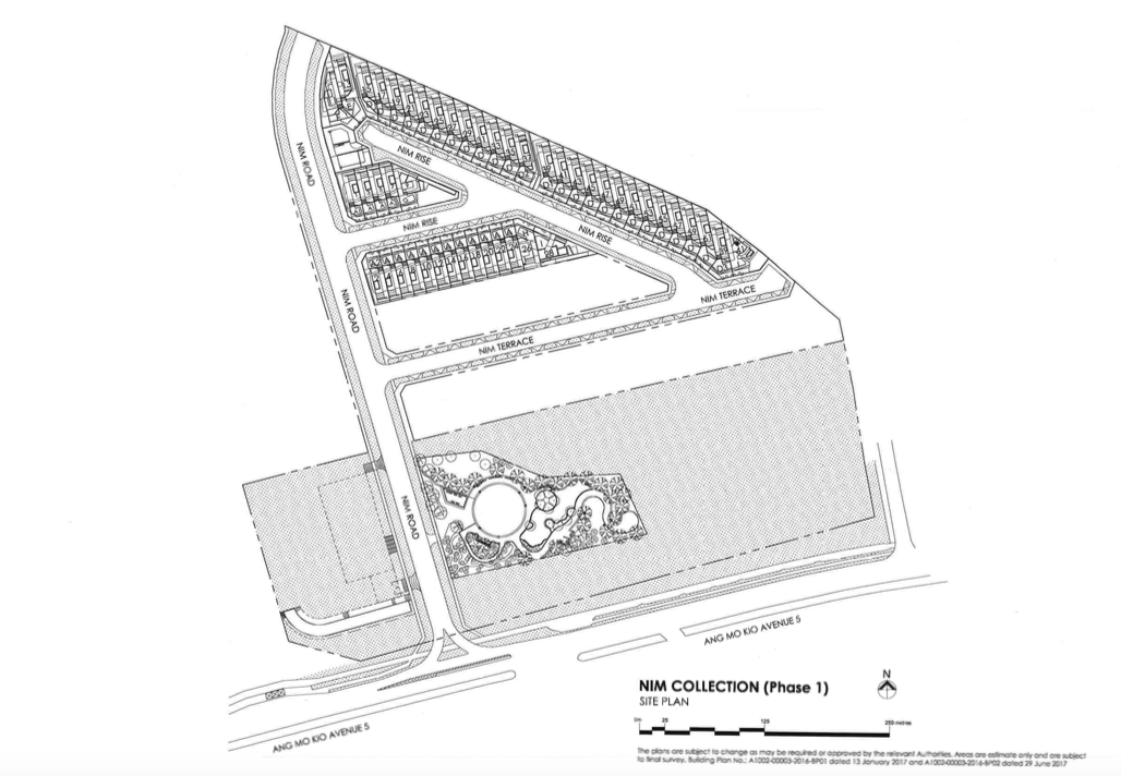Nim Collection Site plan