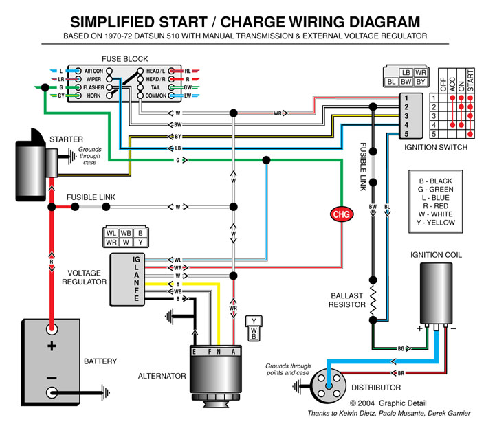 S14 Alternator Wiring Diagram : Sr wiring diagram somurich