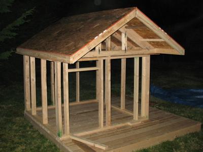 playhouse roof design