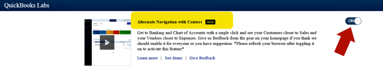 Alternate Navigation with Centers
