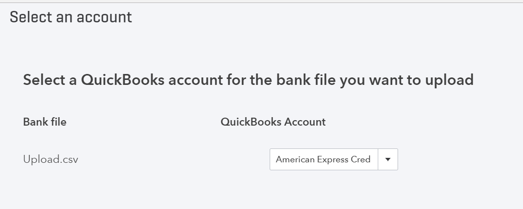 How to import credit card transactions from Excel CSV file
