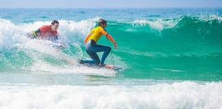 Stag and Hen Bodyboarding Lessons