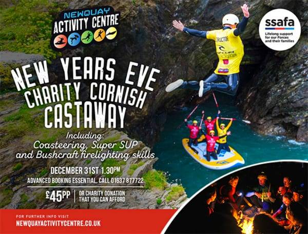 New Years Eve Charity Event Newquay