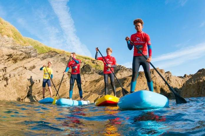 Kids SUP Lessons