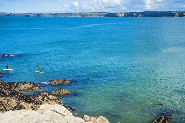 Top 5 SUP Places Cornwall