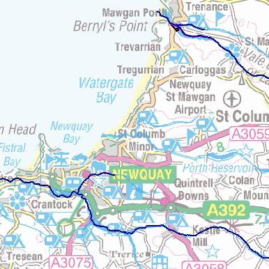 Newquay Flood Risk Maps