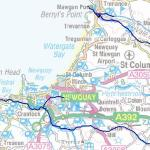 Newquay Flood Risk Map