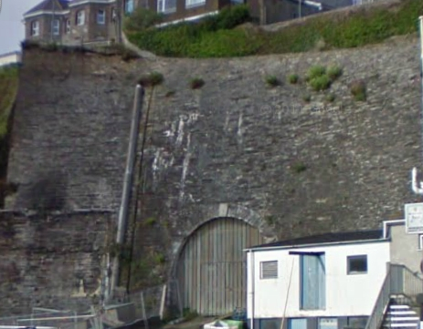 Treffry Tunnel, Newquay Harbour