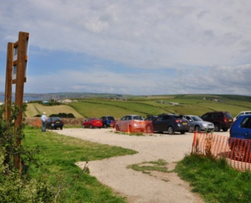 New Car Parking at Port Isaac for Doc Martin Fans