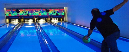 10 Pin bowling in Newquay