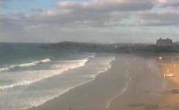 Webcam Watersedge Fistral Beach Webcam