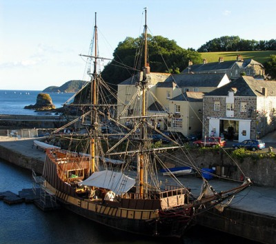 Poldark Filming Locations: Charlestown, Cornwall