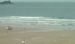 Fistral Beach Webcam Ann S Cottage Surfwear Newquaynewquay