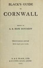 Blacks Guide to Cornwall 1919