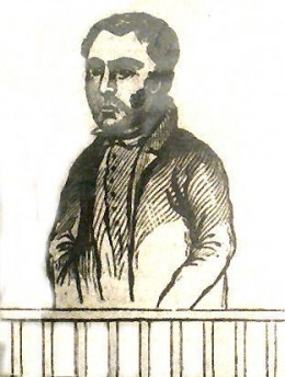 Cornish Murders Nevell Norway William Lightfoot Drawing In Newspapers 1840