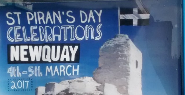 Newquay St Pirans Day Events 2017