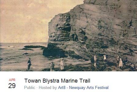 Towan Blystra Marine Trail 2017