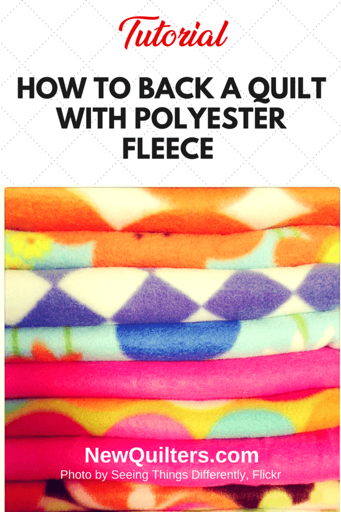 Photo of stacked and folded polar fleece fabric