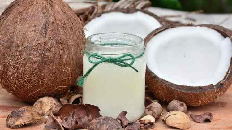 Coconut oil for oral health