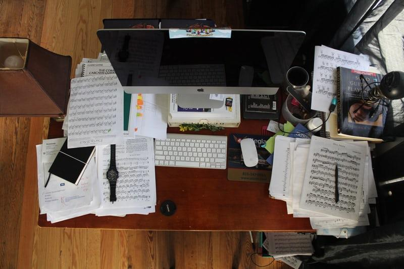 Visual clutter can lead to anxiety and stretch your working memory thin