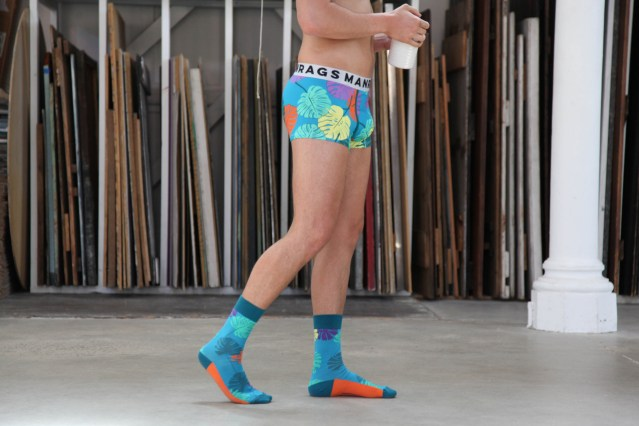 MANRAGS matching socks and underwear