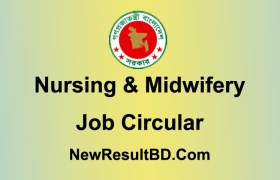 Nursing and Midwifery Job Circular