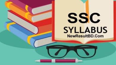 SSC New Short Syllabus 2021 (Revised) For SSC Exam (এসএসসি নতুন সিলেবাস ২০২১)