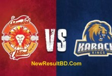 Karachi Kings vs Islamabad United PSL (Pakistani Super League) live stream on mobile, score update, match prediction, fantasy cricket tips, players list.