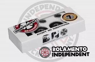 rolamento skate independent