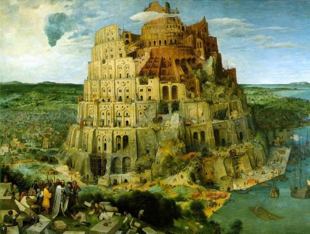 Torre de Babel Bruegel 1563