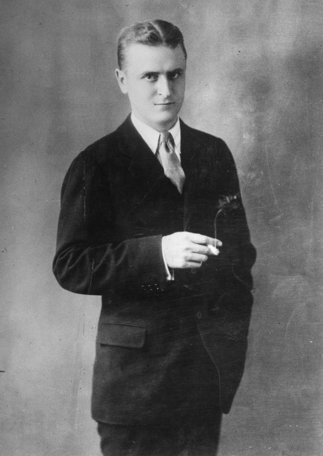 "This portrait of F. Scott Fitzgerald was done in 1925, back when things were going well for the young writer. ""Everything was golden for him early on,"" says writer Stewart O'Nan, ""and then things started going against him ... it's a spiral"