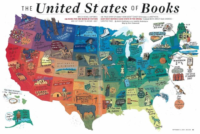 United States of Books Entertainmetn Weekly Peter Oumanski