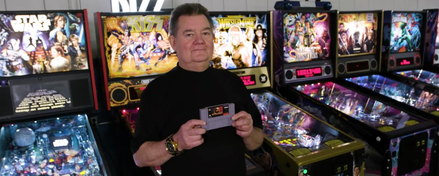 Steve Ritchie: Entre Pinballs e Fatalitys