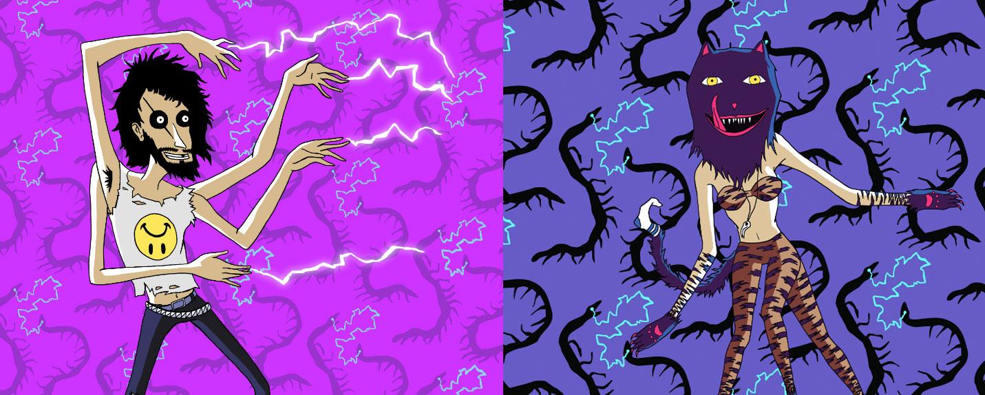 Conheça a mente por trás das ilustrações do Lollapalooza