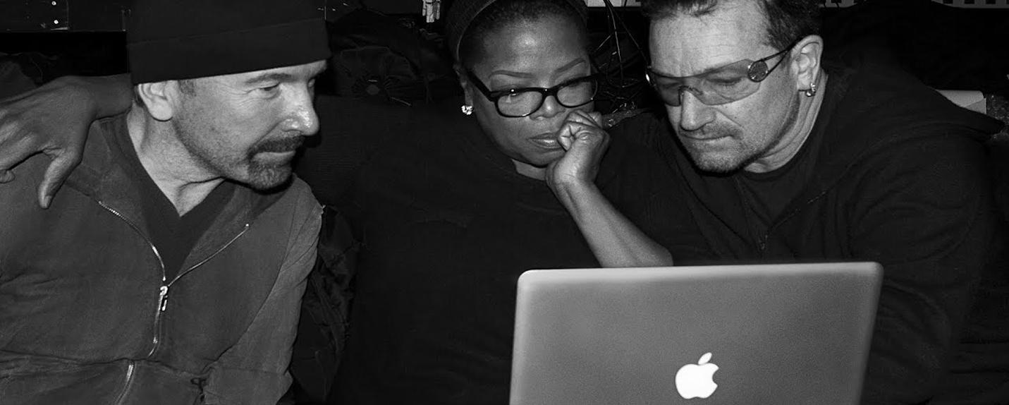 Campanha da Apple mostra bastidores de músicos britânicos