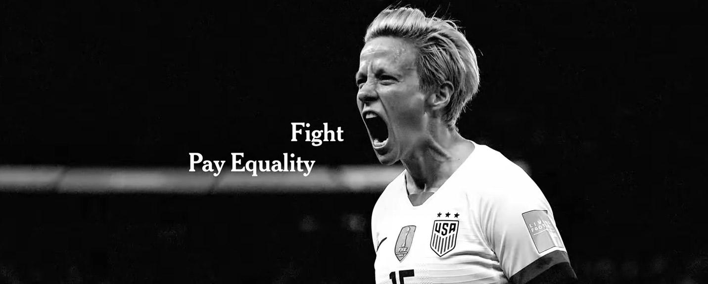 """""""Truth Has A Voice"""" e a luta pela igualdade de gênero no esporte"""