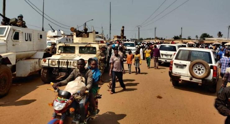 Central African Republic UN forces want to disarm the PK5, a lawless area in Bangui