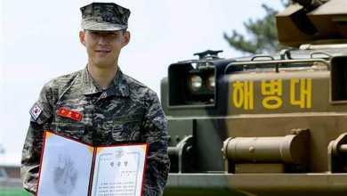 Photo of سون نجم توتنهام ينهي خدمته العسكرية في الجيش الكوري بتكريم خاص وإبهار القادة