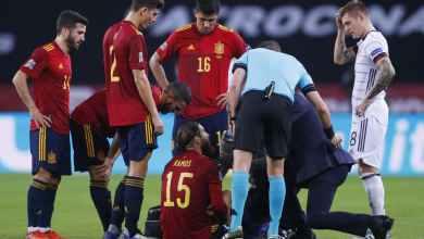 Photo of رسميًا.. ريال مدريد يعلن تفاصيل إصابة راموس ومدة غيابه