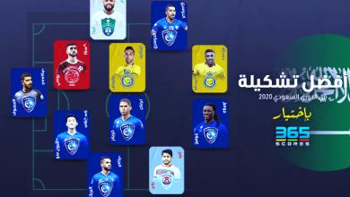 Photo of التشكيلة الأفضل في الدوري السعودي 2020 وفقًا لـ 365Scores