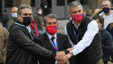 Photo of لابورتا يلقي أول خطاب بعد فوزه في انتخابات برشلونة.. ورسالة خاصة لميسي