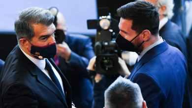 Photo of إذاعة كتالونية تكشف موعد تقديم لابورتا العقد الجديد إلى ميسي