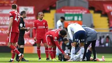Photo of فيديو – إصابة نجم منتخب مصر خلال مواجهة ليفربول ضد أستون فيلا