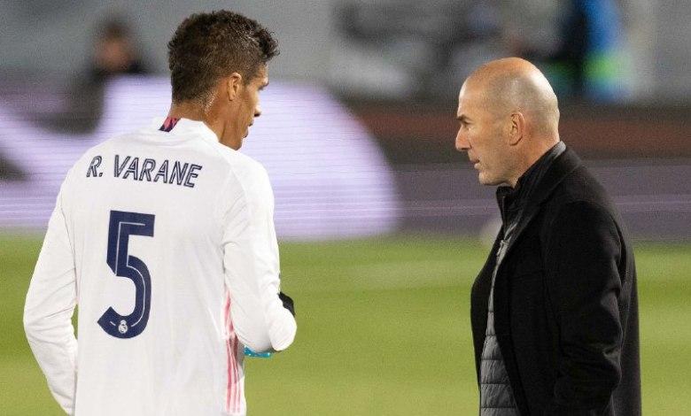 زيدان - فاران - ريال مدريد