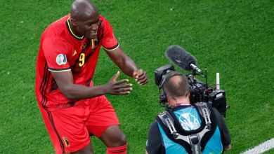 Photo of فيديو – لوكاكو يوجه رسالة لإريكسن أثناء احتفاله بهدفه مع بلجيكا ضد روسيا