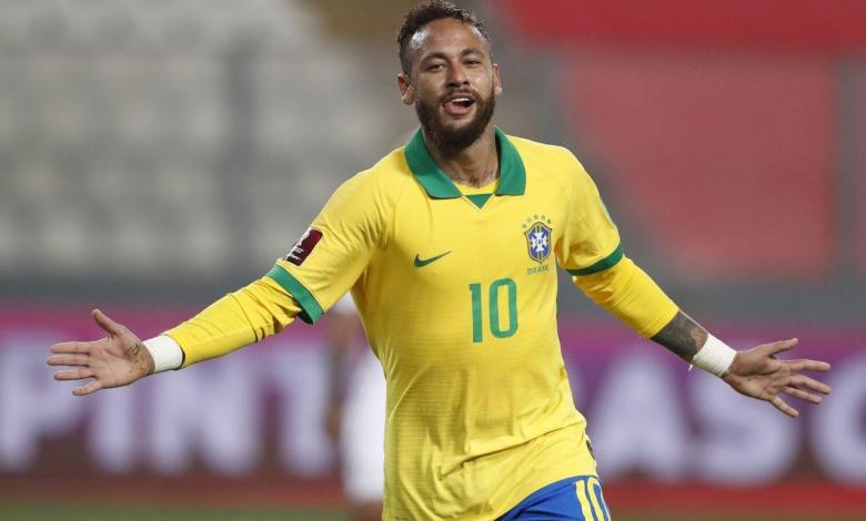 نيمار مع البرازيل